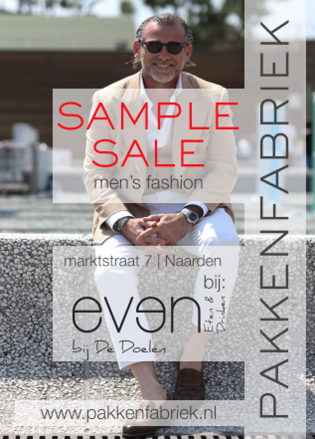 EVEN een Gooische Sample Sale