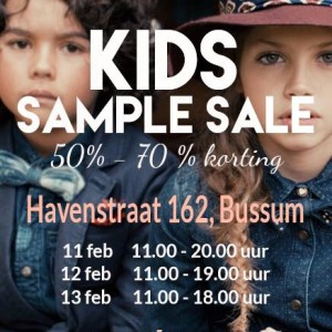 3-daagse Kids Sample Sale