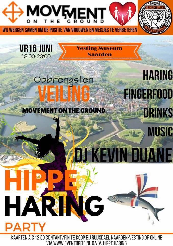 Hippe Haring Party in Vestingmuseum Naarden
