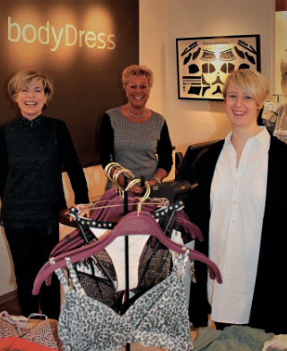 Hotspots in Huizen: bodyDress