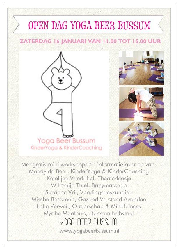 Yoga Beer Bussum KinderYoga & KinderCoaching bestaat 5 jaar