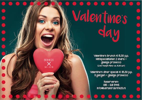 Valentine's day bij Brink20