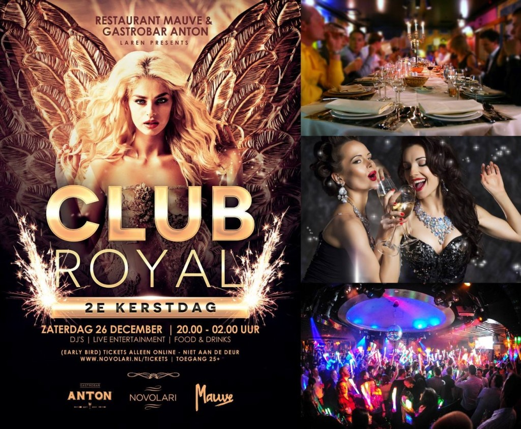Club Royal bij Restaurant Mauve & Gastrobar Anton