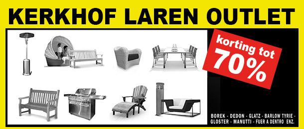 Kerkhof Laren opent Outletwinkel in Baarn
