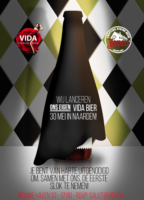 Vida onthult eigen biertje tijdens officiele lancering