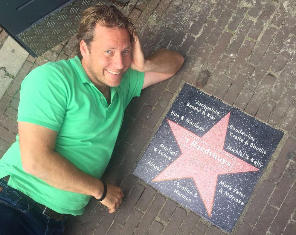 Café 't Raedthuys 15 jaar, 'Het enige café in Nederland met een ster'