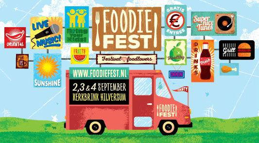 Hilversums eigen foodtruck festival FoodieFest