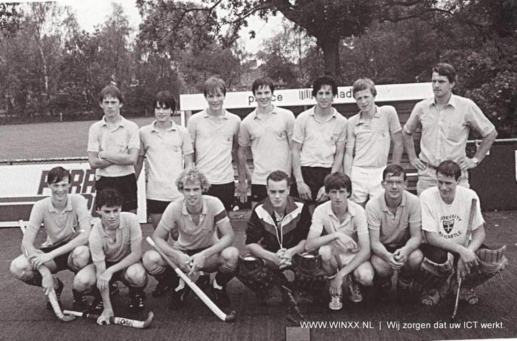 Speciale hockey-reünie op Laren