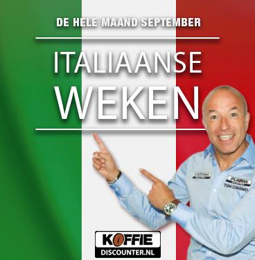 Must see in september: Italiaanse koffieweken in Naarden