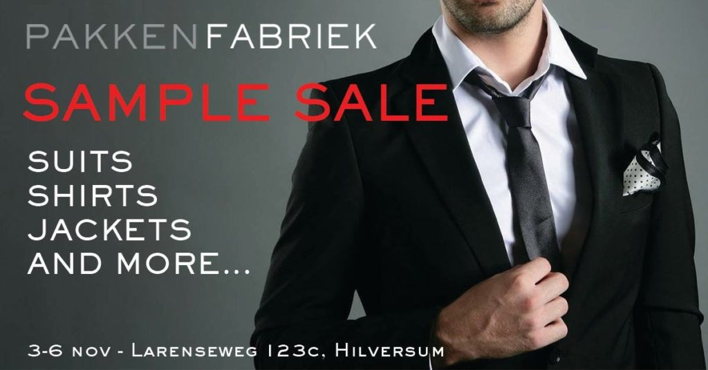 Gooische Sample Sale van PakkenFabriek!
