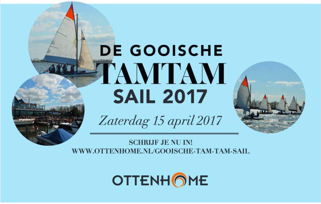 5e Gooische Tam Tam Sail, zaterdag 15 april
