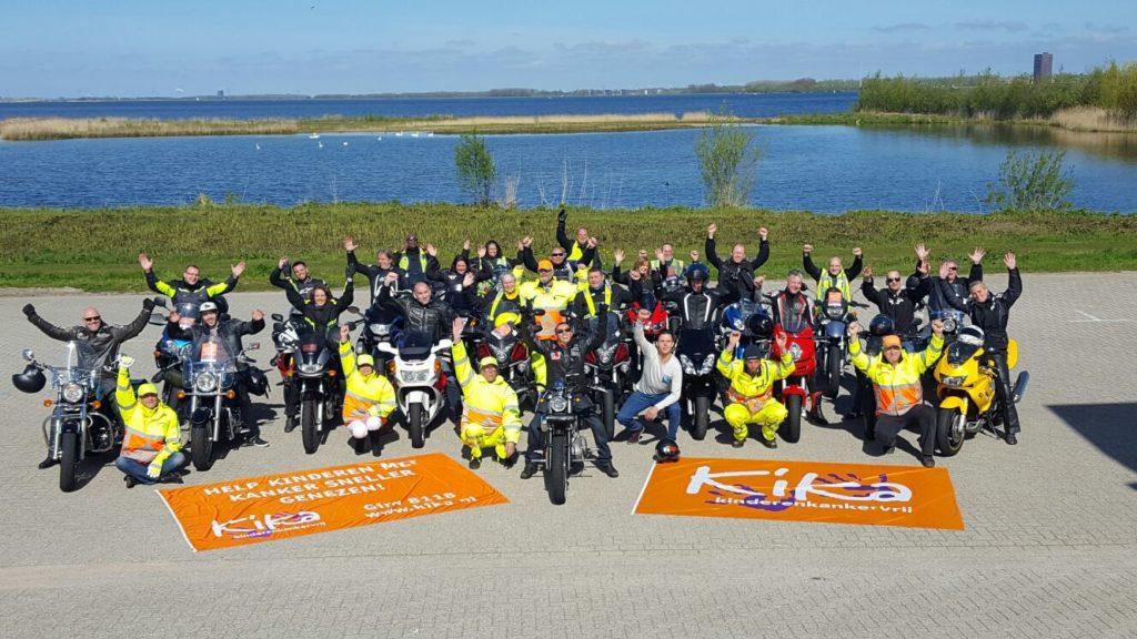 Motor toerrit voor KiKa: Ride4Kika
