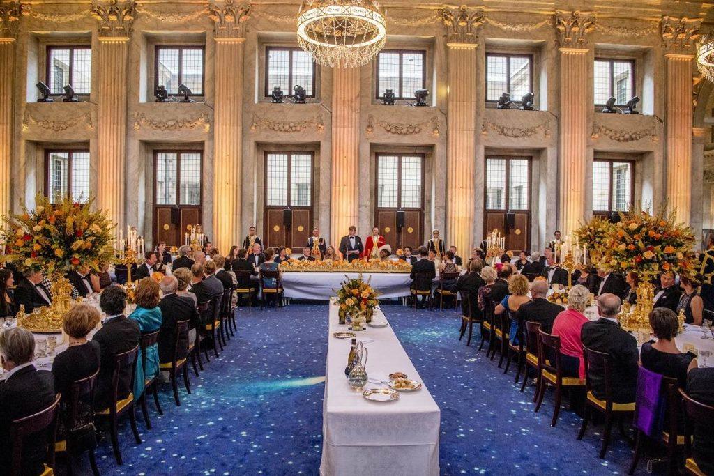 """Bastian dineerde met het koninklijk paar: """"Onvergetelijk"""""""