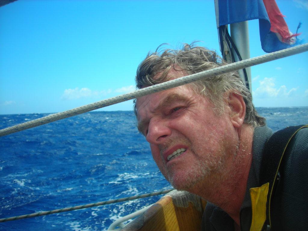 Zeezeiler Henk ter Velde bij jubilerend Verwoerd Watersport