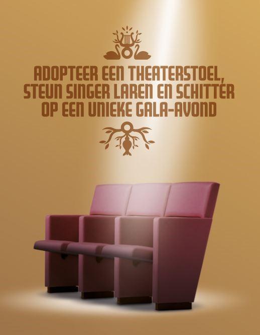 Theaterstoel adopteren bij Singer Laren