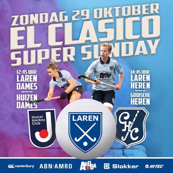 Klassieke Super Sunday: El Clasico op Laren