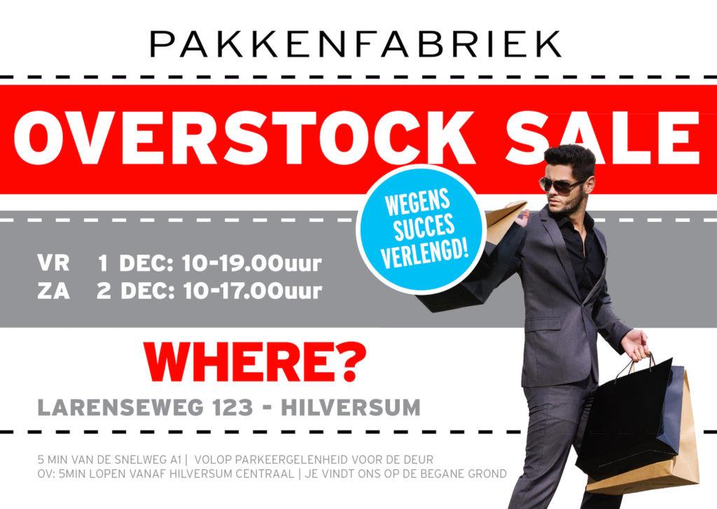 Overstock Sale van PakkenFabriek