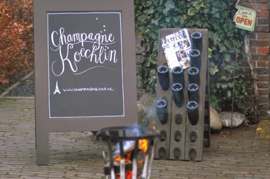 champagneproeverij a.s. zondag bij Petit Clos Laren