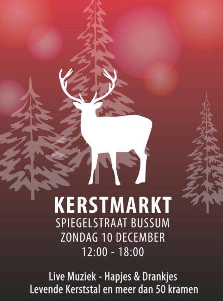 kerstmarkt Spiegelstraat Bussum