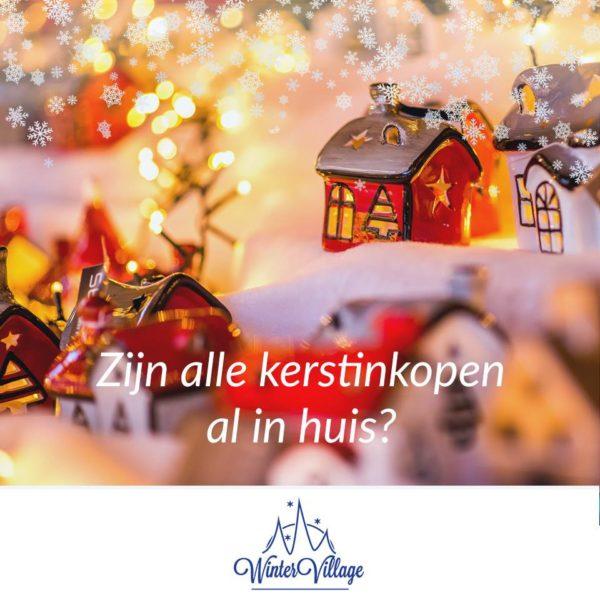 kerstmarkten het gooi