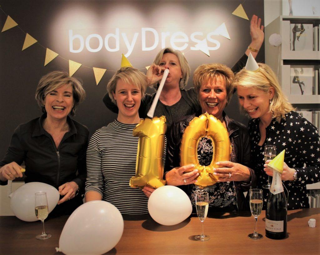 Tien jaar bodyDress in Huizen