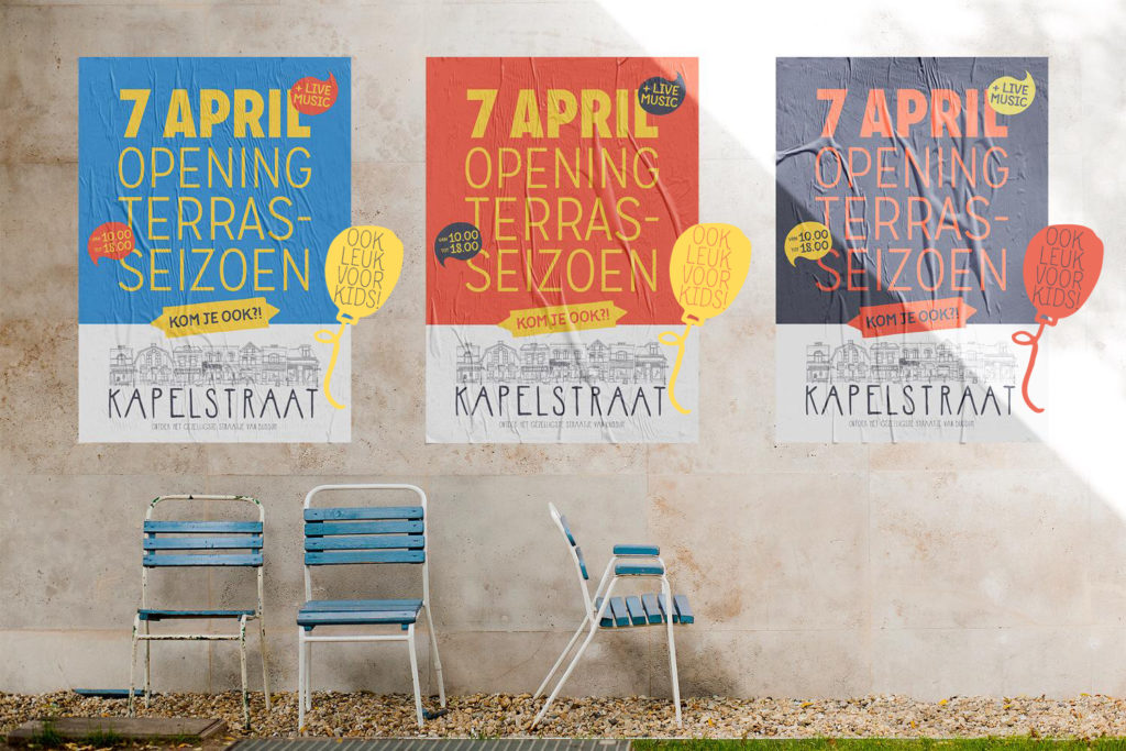 Feestelijke opening terrasseizoen Kapelstraat Bussum