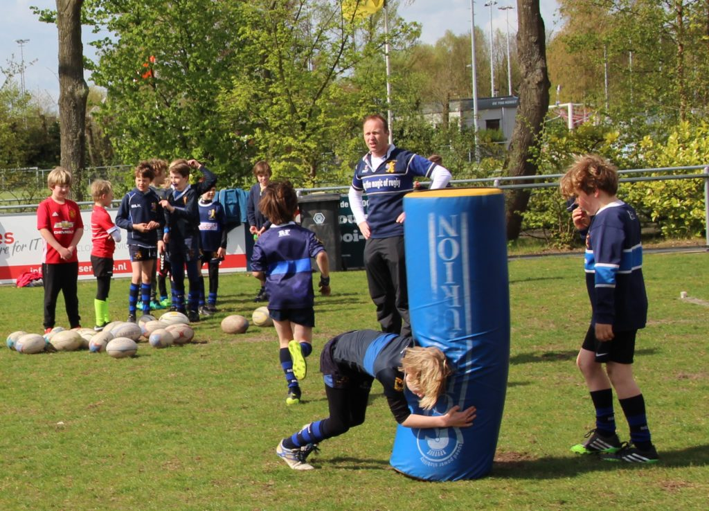 Ook een idee: rugbyen in 't Gooi