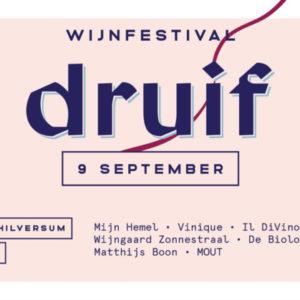 druif: het eerste Hilversumse WijnFestival