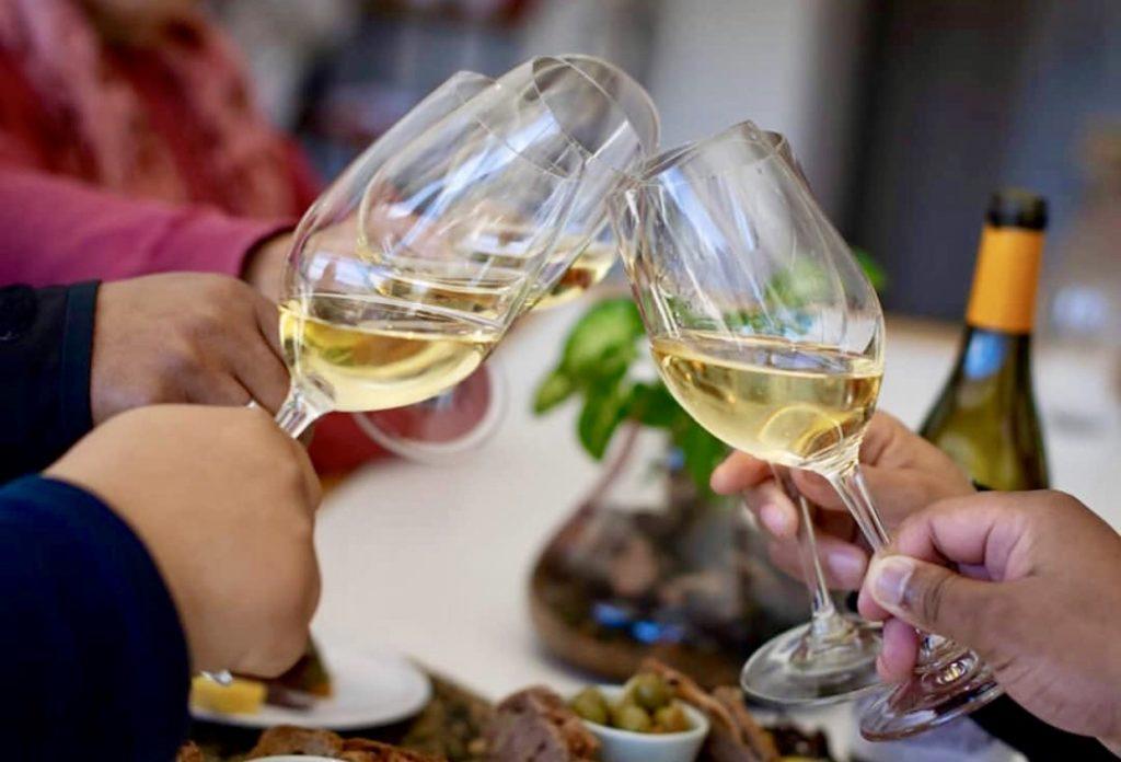 Zuid-Afrikaanse wijnproeverij in het Brinkhuis