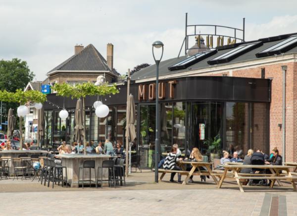 MOUT: terras hotspot in Hilversum