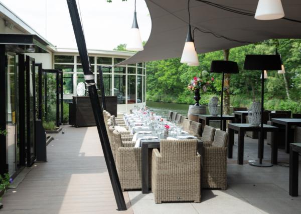 Dudockx in Hilversum: hotspot terras