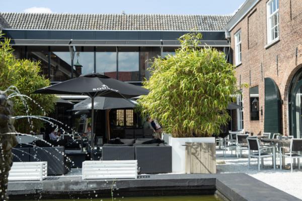 Brasserie Arsenaal in Naarden-Vesting: hotspot
