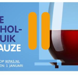 IkPas: zet je alcoholgebruik een maand op pauze